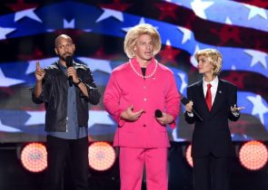 Trump and Hillary look weird