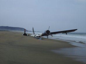 buried airplane