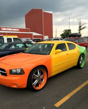 colorful Charger