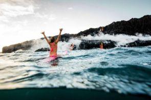 Alison Teal has no fear of island volcanos