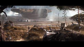 forgotten space port