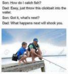 how do I catch fish
