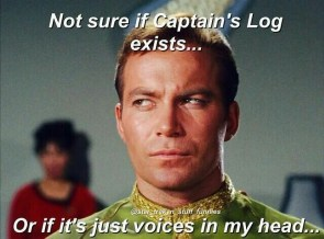 not sure if captain's log exists