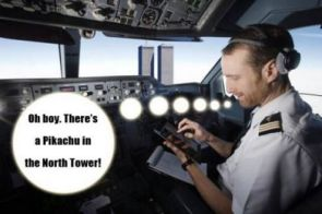 pikachu in the north tower