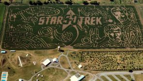 star trek in the maize
