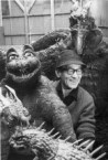Behind the scenes shots from Destroy All Monsters