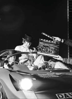 Behind the Scenes Photo  A Clockwork Orange