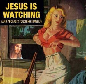 JESUS IS WATCHING