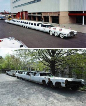 80s limo then and now