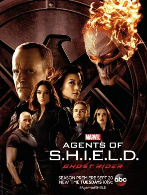 Agents of SHIELD vs Ghost Rider