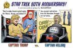 Captain Trump vs Captain Hillary