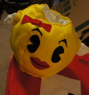 Ms. Pacman Halloween for baby.