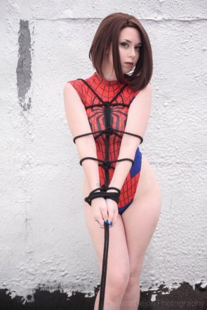 Spider-Girl by Angelica