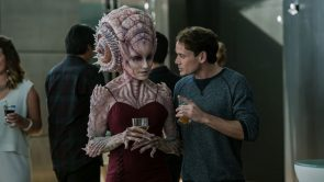 Star Trek Beyond Chekov and alien