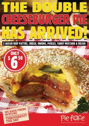 double cheeze burger pie