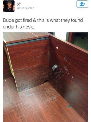 dude got fired
