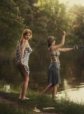 fishing mishap