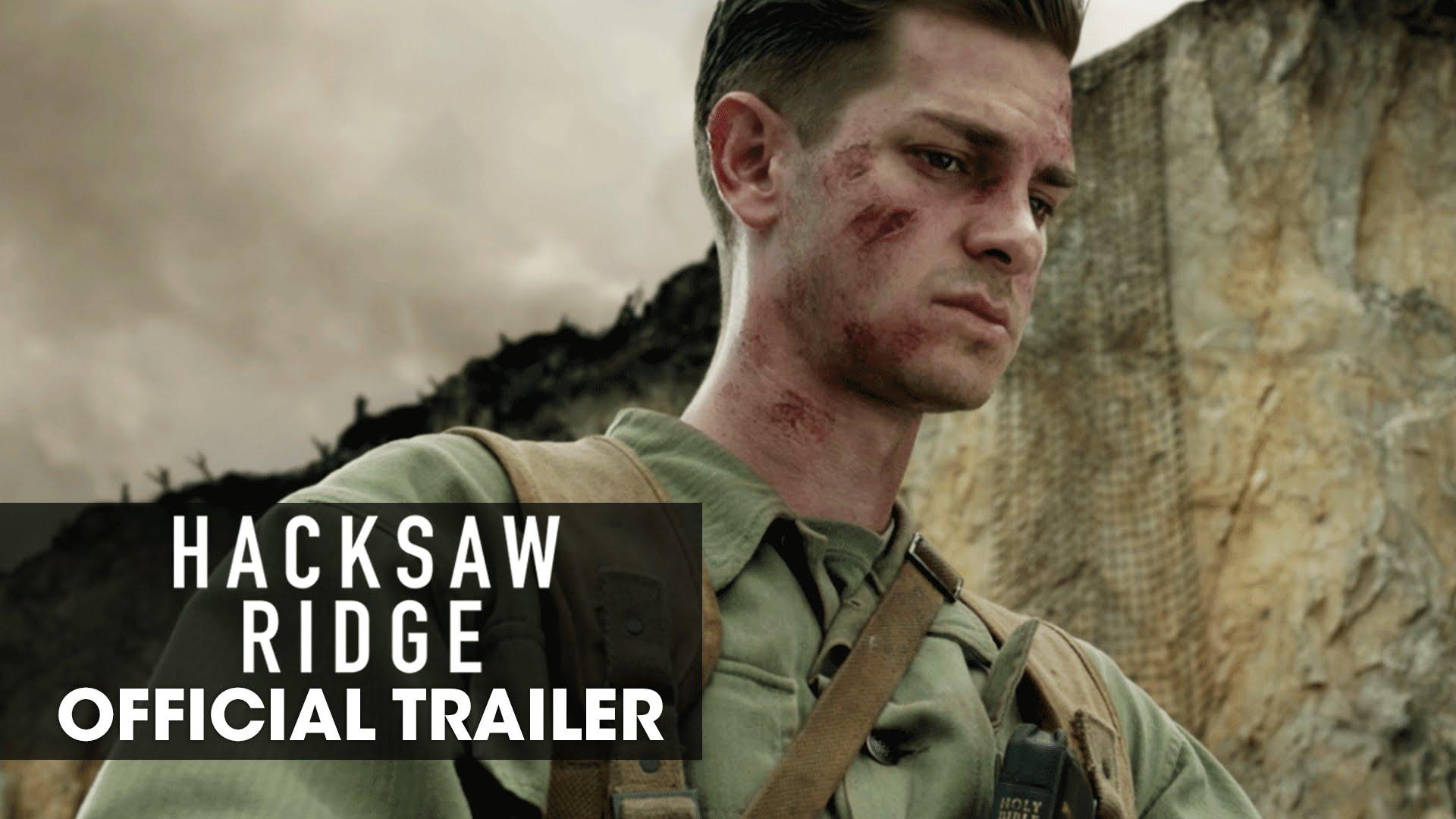 Andrew Garfield Cute Wallpaper Hacksaw Ridge 2016 Movie Official Trailer Quot Believe