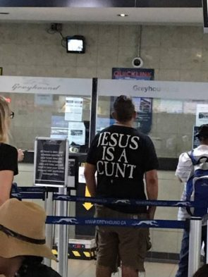 jesus is a cunt