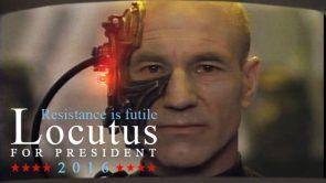 Locutus 2016 – Resistance is Futile