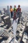 tower top selfie