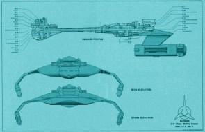 Klingon D-7 Battle Cruiser