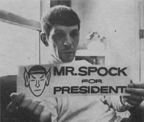 Mr. Spock for President