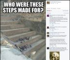 who were these steps made for