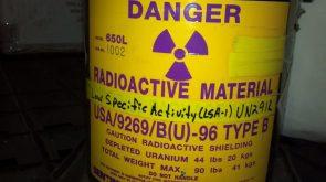 Depleted Uranium Canister