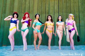 Disney Bikini Princesses