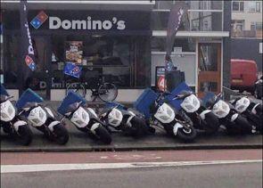 Domino's Bikes