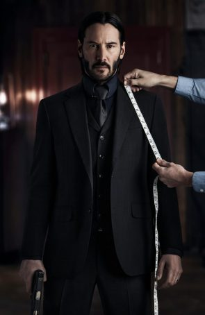 John Wick is getting fitted for a new suit