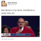 Ken Bone Is My Name