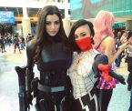 Leeanna Vamp and Roxy Phoenix at 2016 Wonder Con