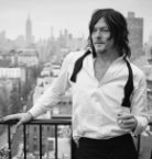 Norman Reedus on a balcony