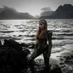 Official picture of Amber Heard as Aquaman's wife, Mera