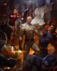 One Punch Man vs Marvel and DC