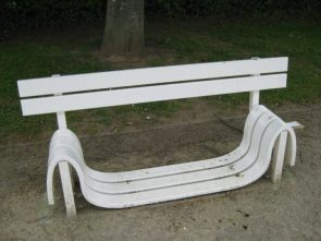 Plastic Benches suck