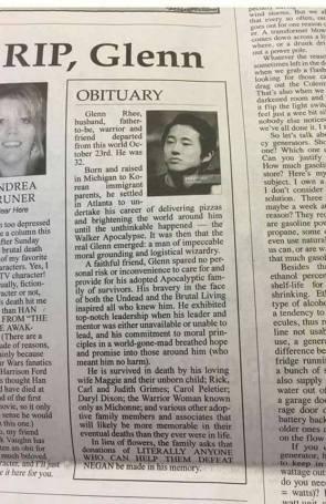 RIP, Glen