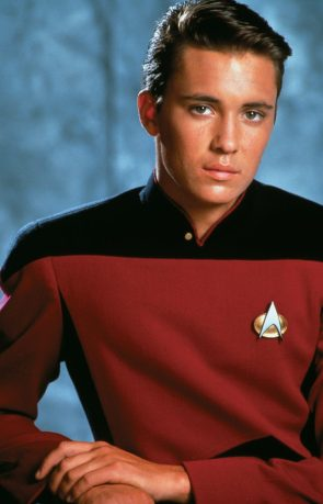 Wesley Crusher in Red