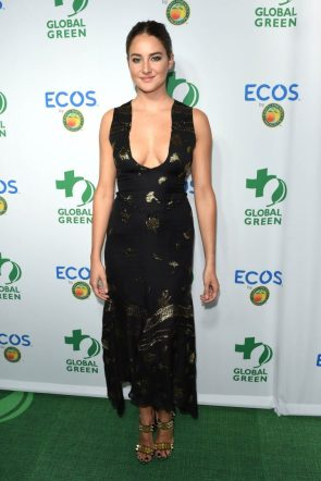 Shailene Woodley – Global Green Environmental Awards in LA 9-29-16