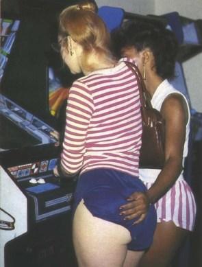 arcade butt grope