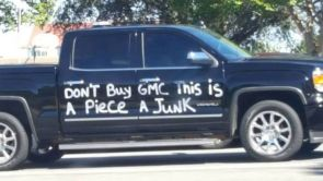 don't buy GMC