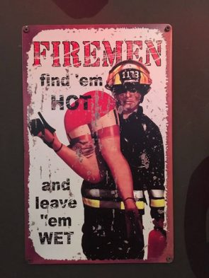 fire men find em hot and leave them wet