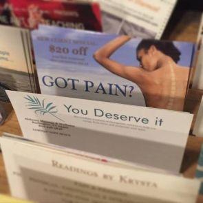 got pain