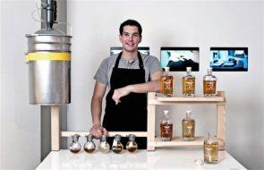 Man Creates High-End, Single-Malt Whisky.