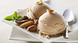 nutty ice cream