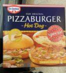 pizzaburger hot dog