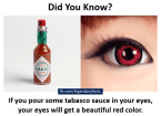 red eye information
