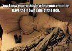 remotes in bed